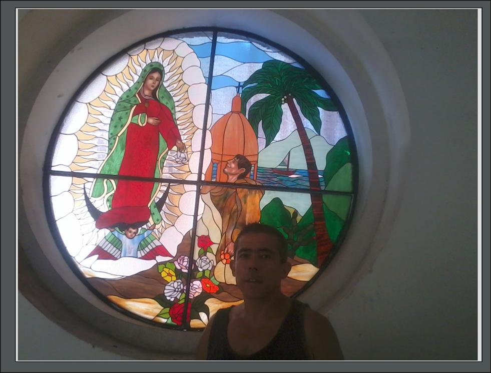 vitrales parroquia de guadalupe puerto vallarta